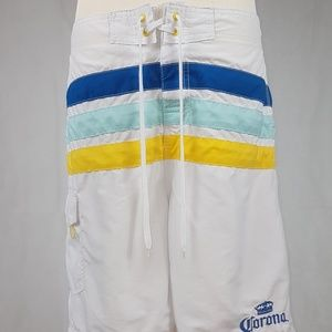 Corona Extra Beer Logo Board Shorts XL